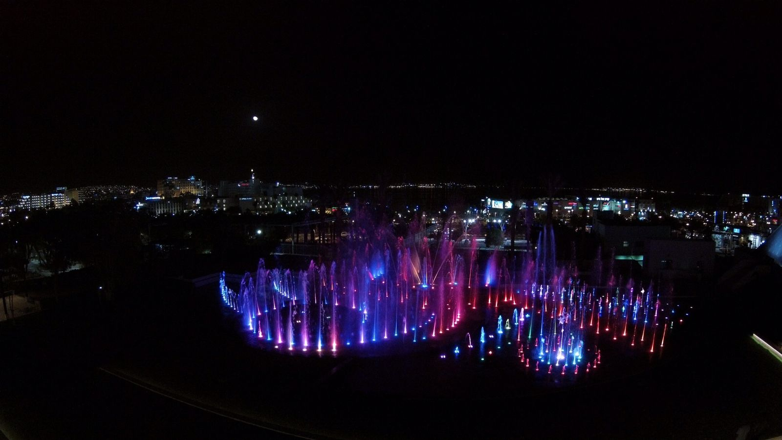 Eilat's new Musical Fountain. Photo by Eshed Fountains