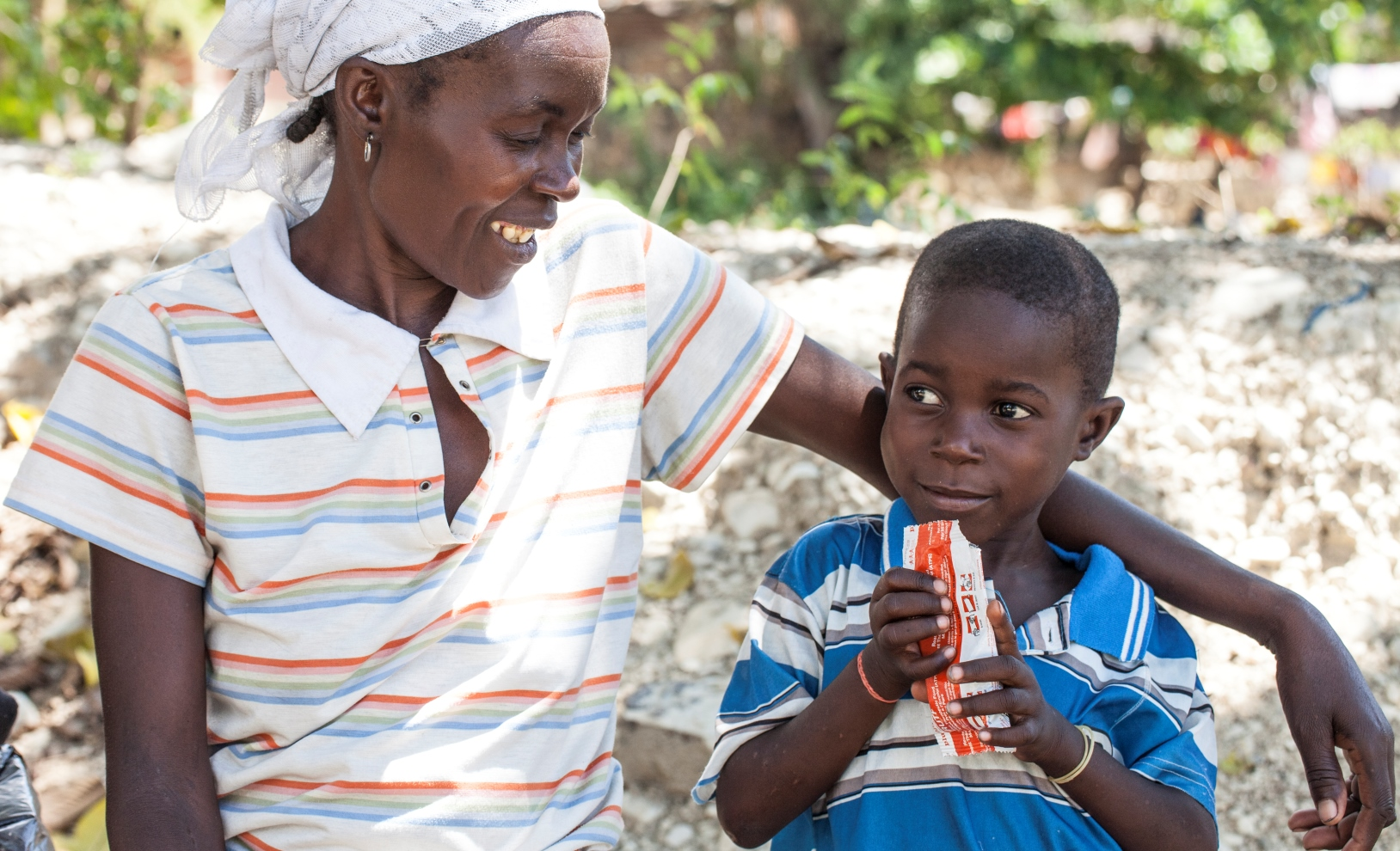 Childhood malnutrition is one of the target problems the 3 Million Club was founded to address. Photo: courtesy