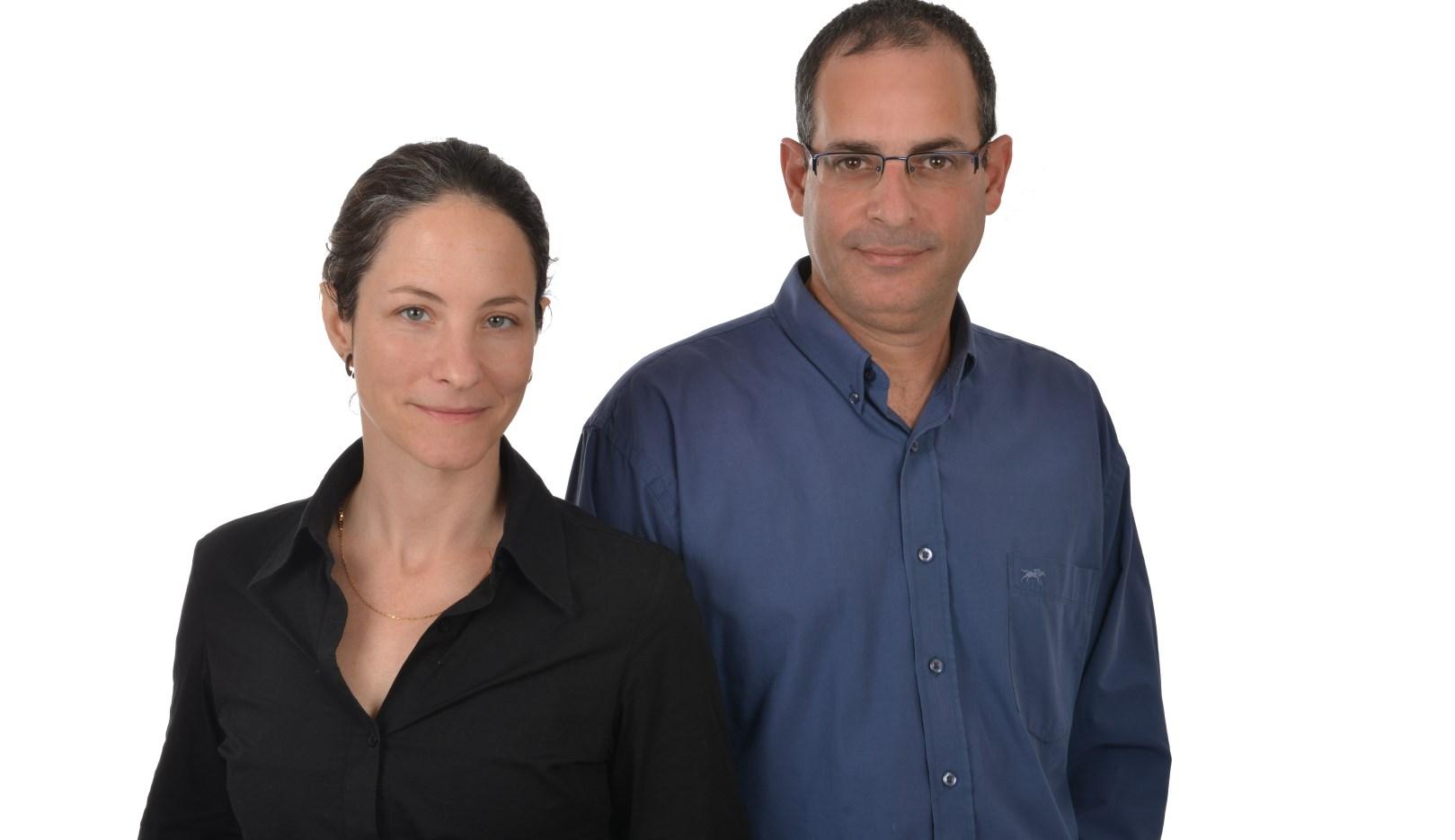 3 Million Club CEO Chamutal Afek-Eitam and COO Oren Sela. Photo by Louiz Green