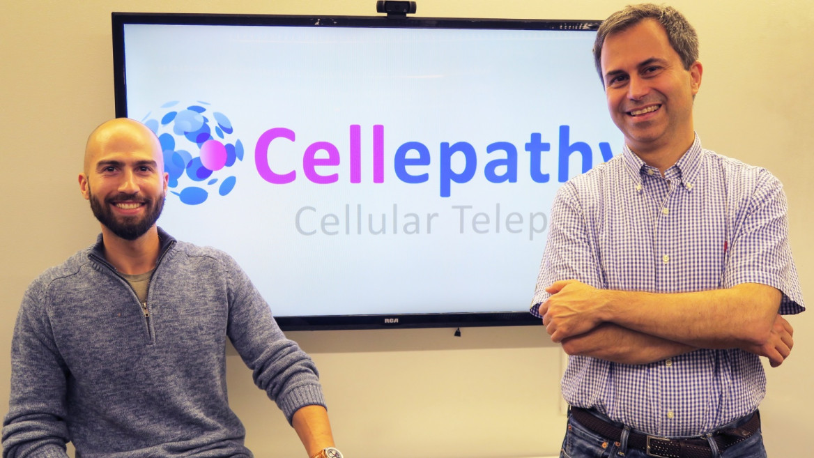 Cellepathy's Sean Ir, left, and Dan Abramson. Photo: courtesy