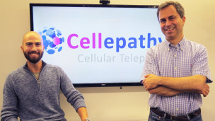 Cellepathy's Sean Ir, left, and Dan Abramson. Photo: courtesy