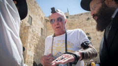 American actor James Caan in Jerusalem, July 19, 2016. Photo by Flash90