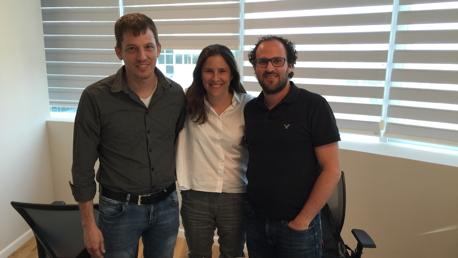 From left, MyndYou cofounders Itay Baruchi, Ruth Poliakine Baruchi and Dan Sztybel. Photo: courtesy