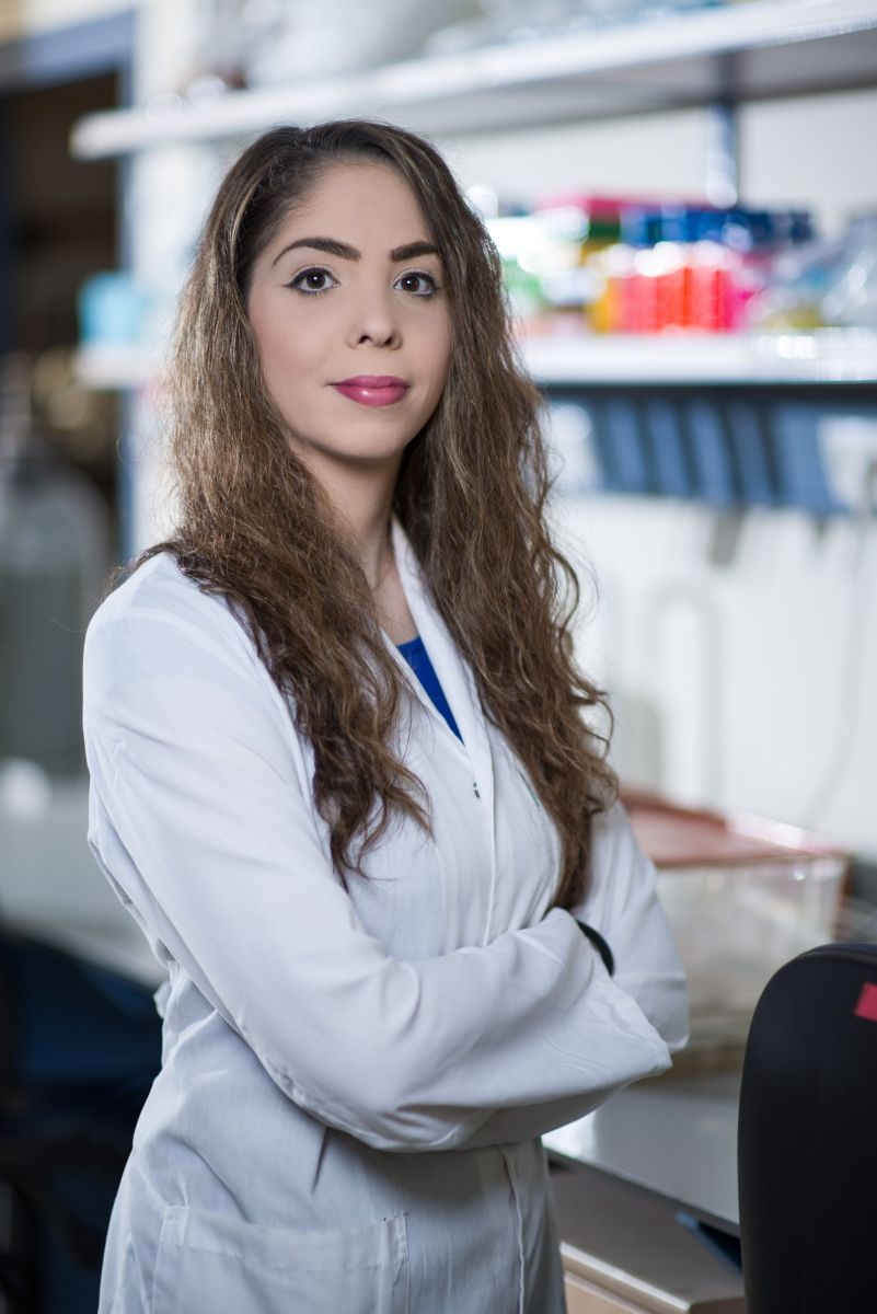 Technion PhD student Maya Bar-Zeev. Photo: courtesy