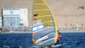 Olympic bronze medalist Shahar Zubari won a berth at Rio on the strength of his finish in this windsurfing competition last April in Palma de Mallorca. Photo via Facebook
