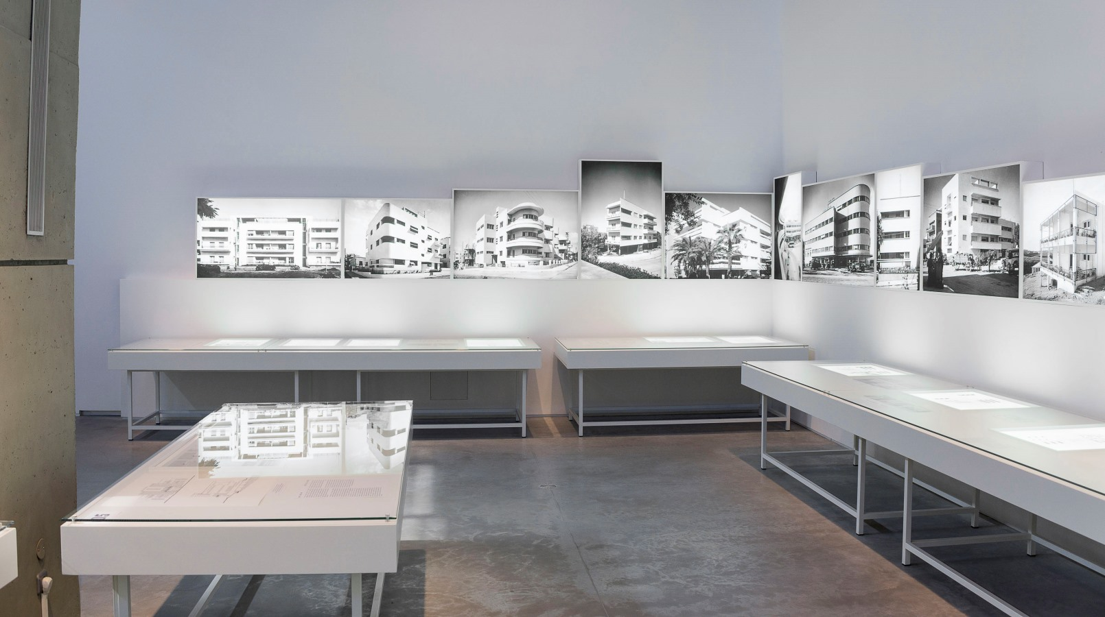 """A peek into """"Social Construction"""" at the Israel Museum. Photo: courtesy"""