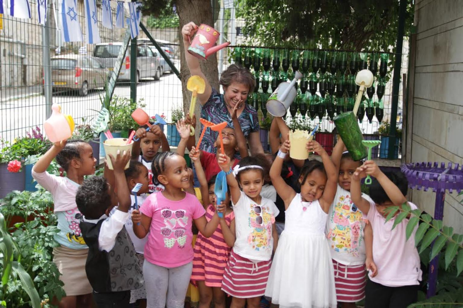 The Social and Environmental Hub's Sustainable Gardens in Kindergartens program is a hit. Photo: courtesy