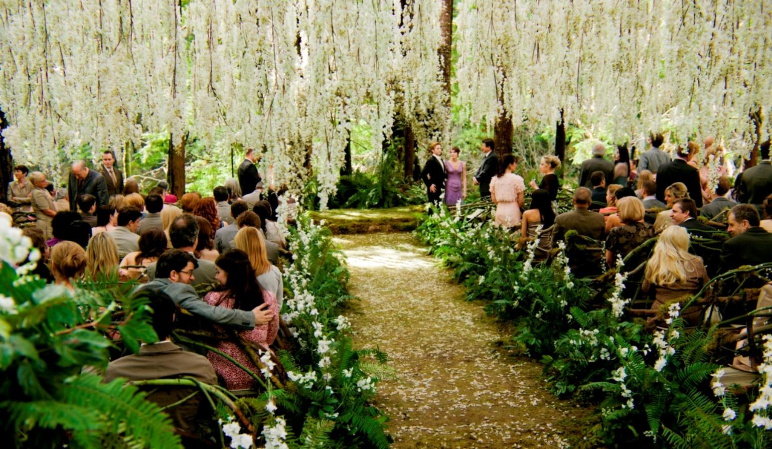 Tammy Carmona designed the often replicated wedding scene in Twilight: Breaking Dawn. Photo: courtesy