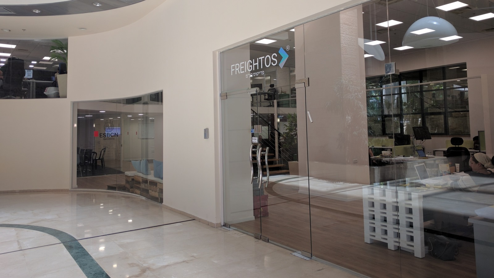 The Freightos office in Jerusalem. Photo: courtesy