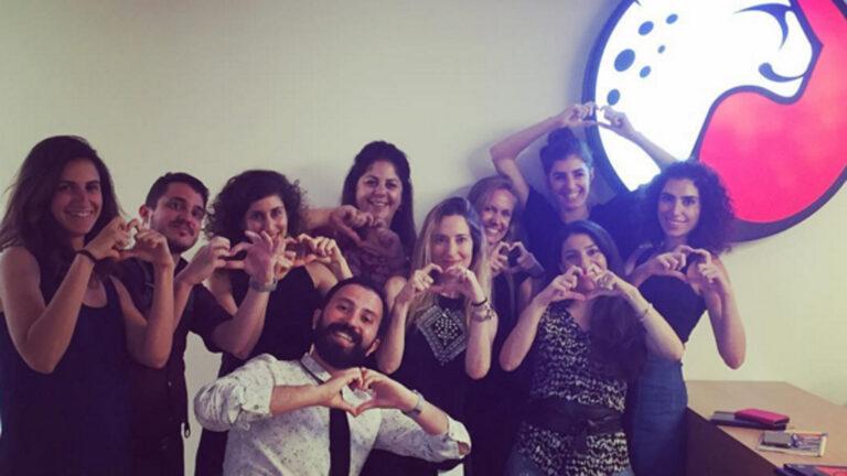 Playtika - Israeli team. Photo via Playtika Instagram