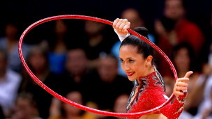 Rhythmic gymnast Neta Rivkin will carry Israel flag in the Rio opening ceremony. Photo: courtesy