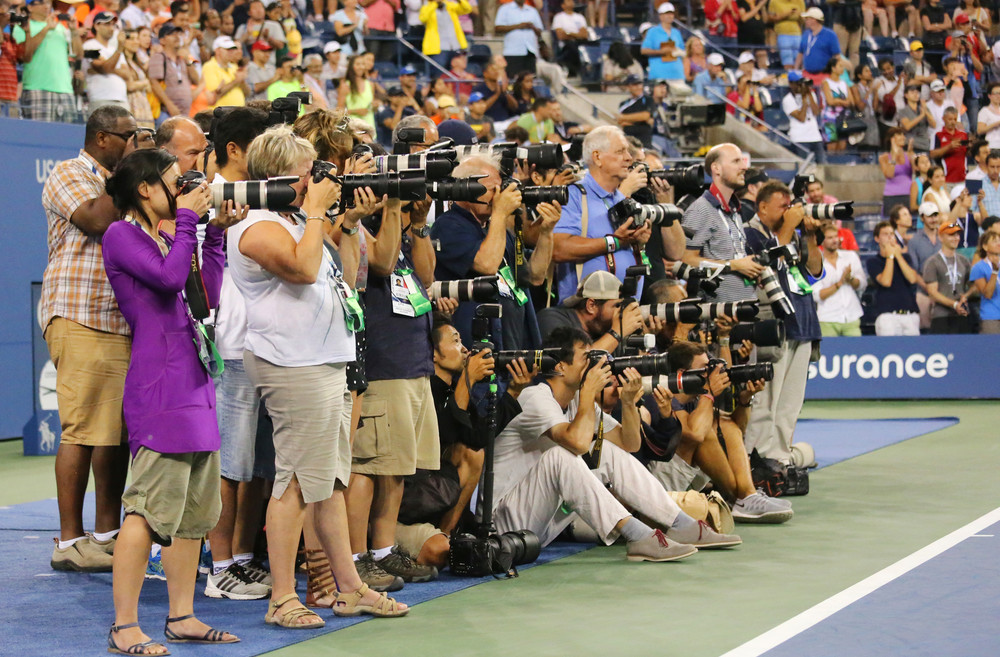 Want to be a sports journalist? Photo by Shutterstock.com