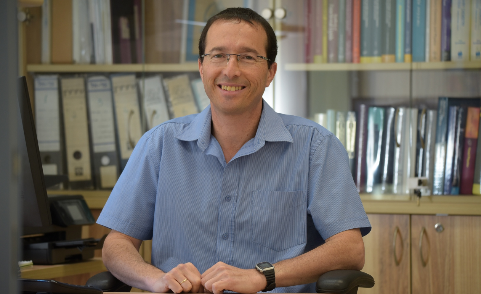 Prof. Yoav Livney of the Technion's Faculty of Biotechnology Engineering. Photo: courtesy