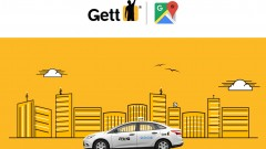 Gett gets in the groove with Google Maps. Image: courtesy