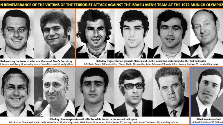 Victims of the Munich Massacre. Photo via Flickr