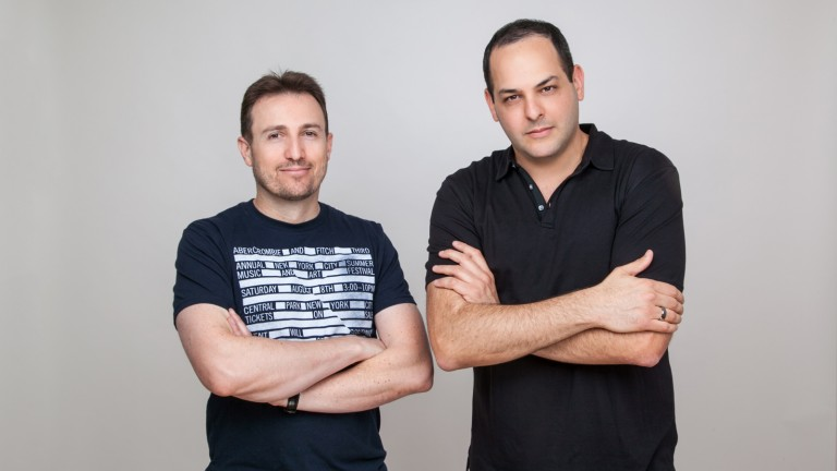 Eyal Ronen and Itai Hirsch, CellSavers. Photo courtesy