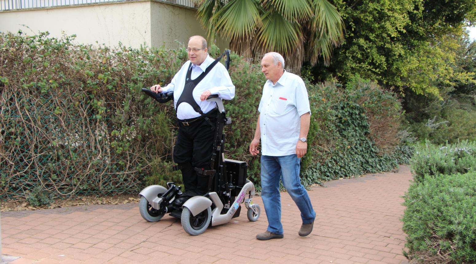 Rewalk Inventor Rolls Out Revolutionary Standing