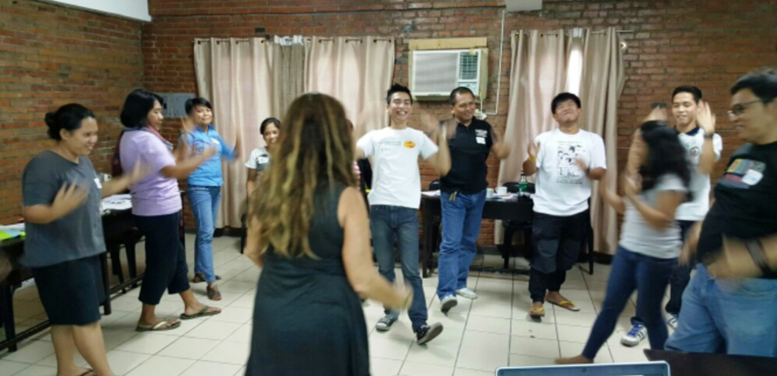 ITC trauma and resilience training in the Philippines. Photo: courtesy