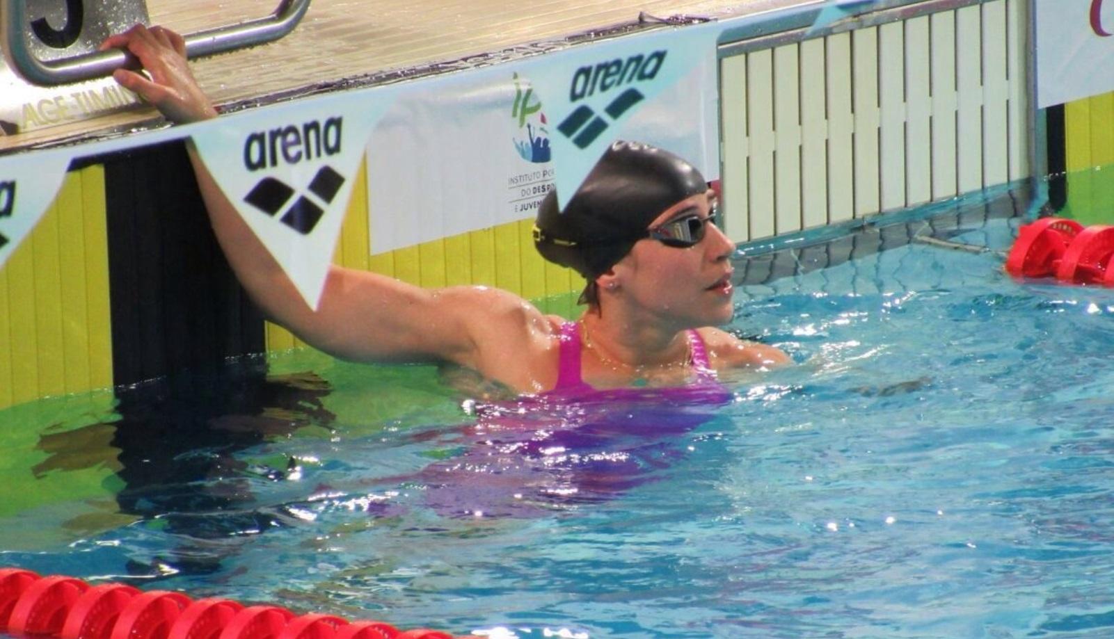 Swimmer Inbal Pezaro has a good chance of medaling in Rio. Photo by Karen Leibivitz Swet