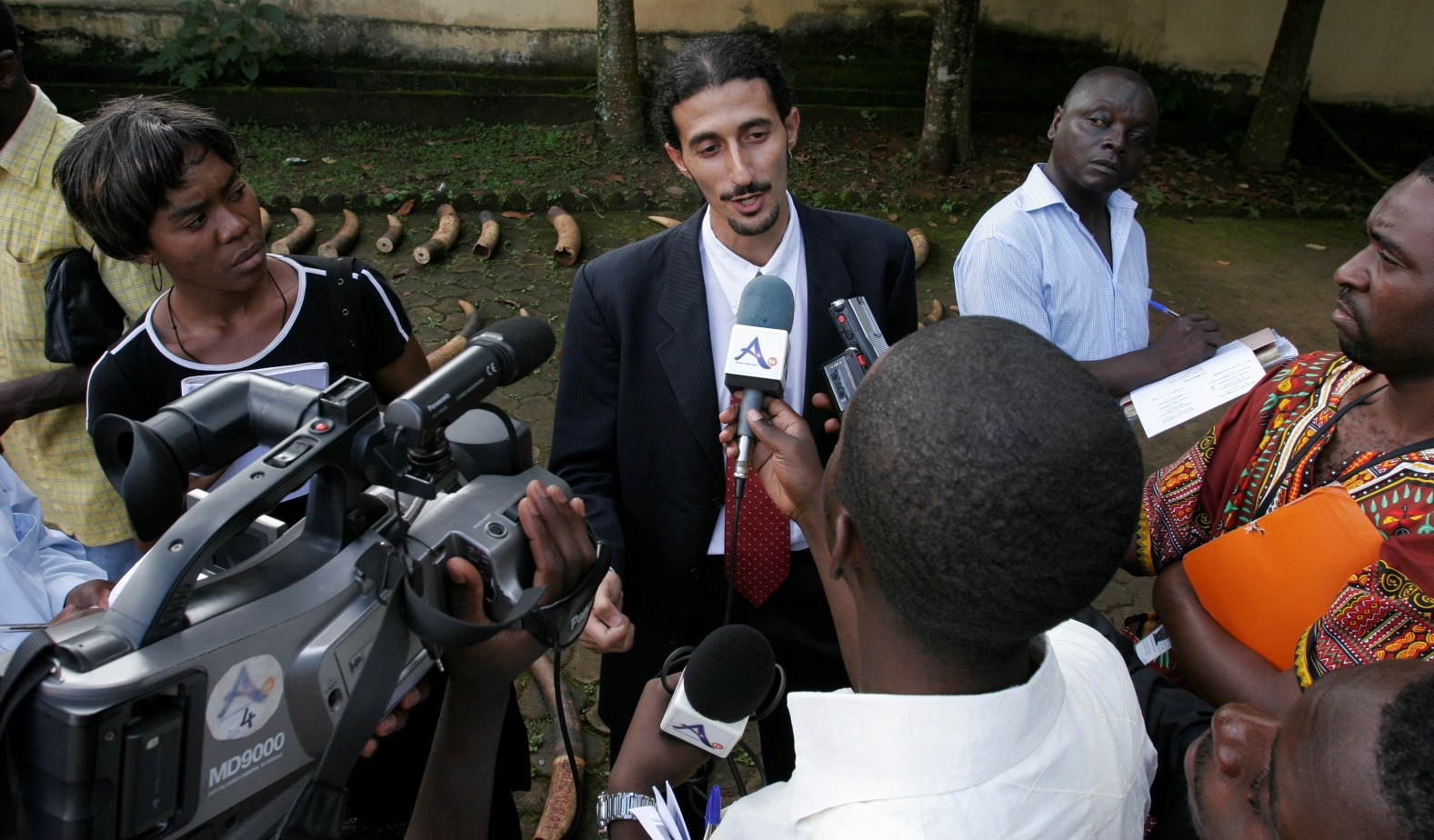 Ofir Drori frequently speaks out about his dangerous and difficult work in Africa. Photo courtesy of EAGLE Network