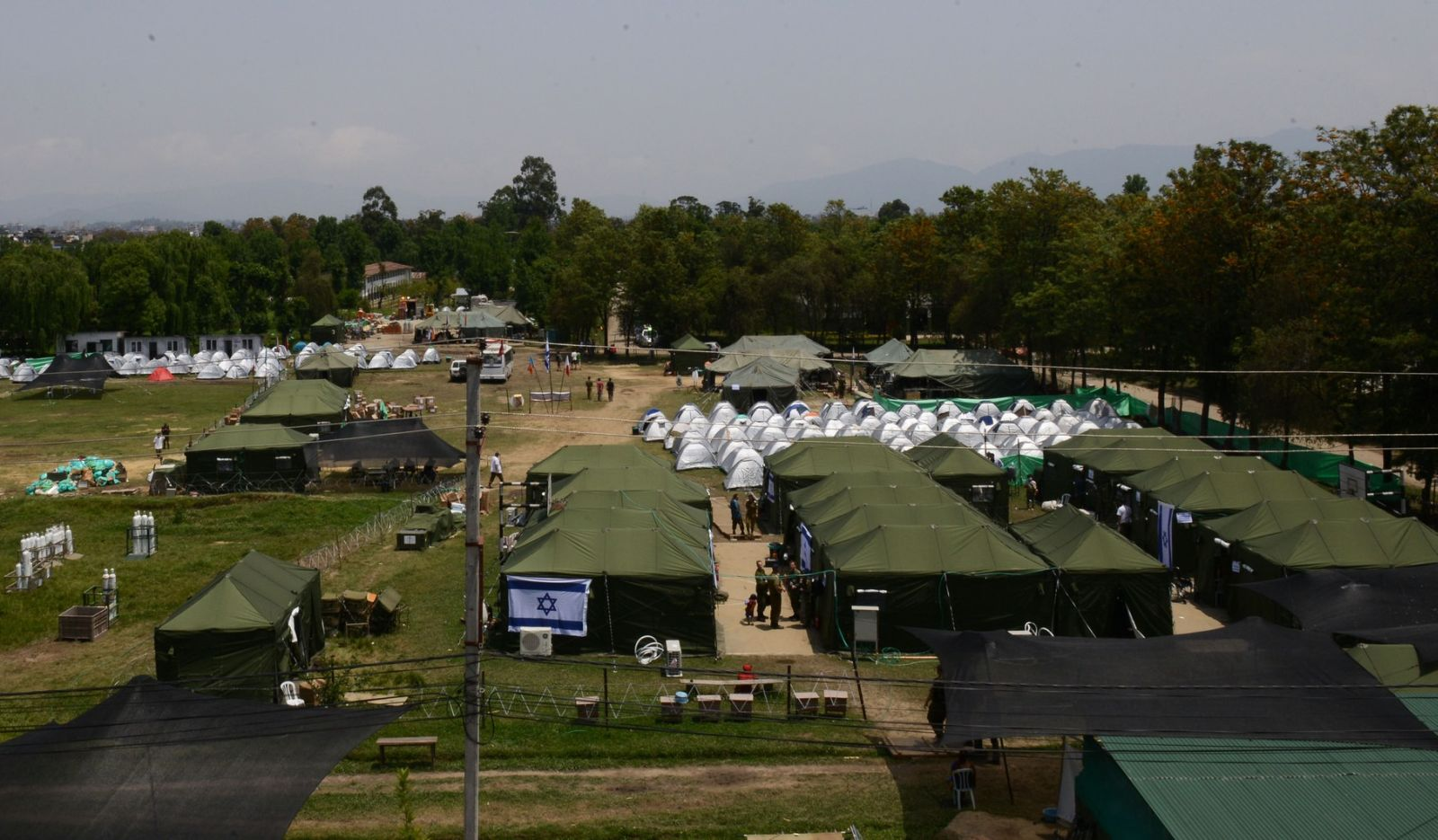The IDF field hospital in Nepal. Photo: courtesy