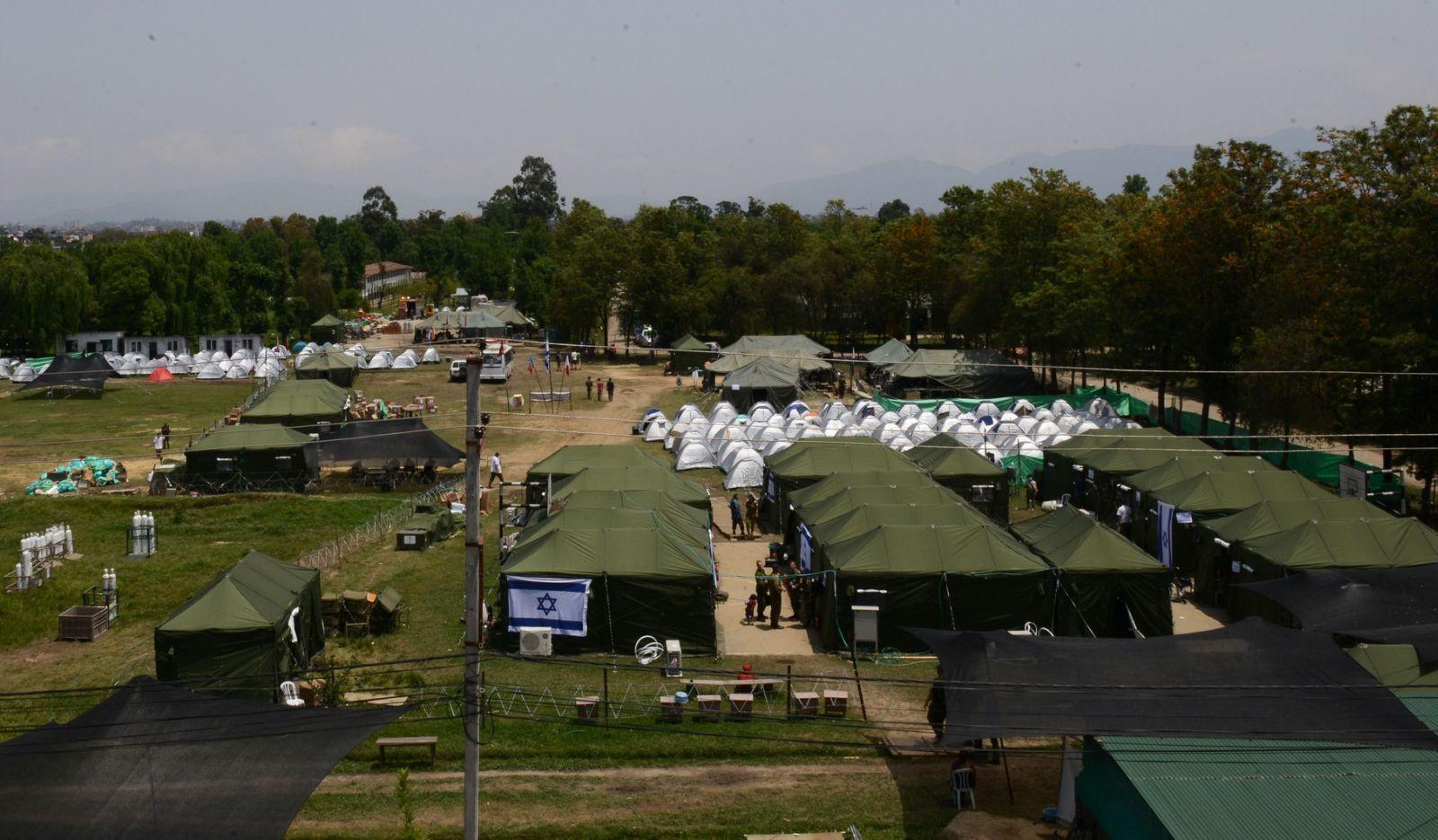 The IDF field hospital in Nepal. Photo: courtesy