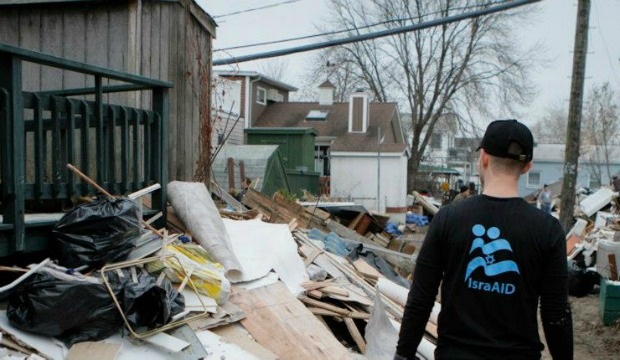 Destruction in New Jersey. Photo by Miki Alon/IsraAID