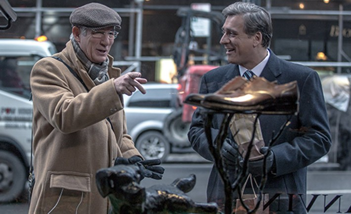 Richard Gere and Lior Ashkenazi star in Joseph Cedar's Norman: The Moderate Rise and Tragic Fall of a New York Fixer. Photo by Sony Pictures