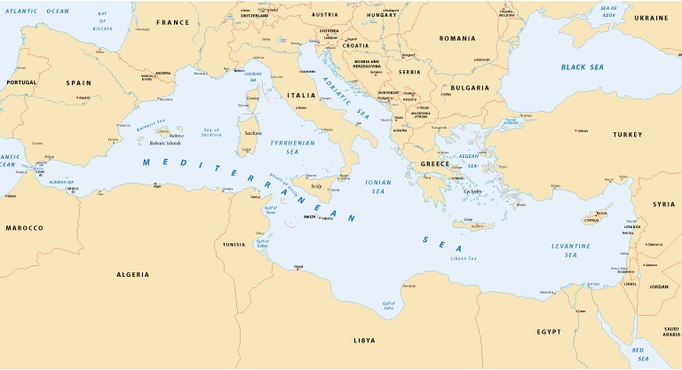 World\'s oldest oceanic crust found in Mediterranean Sea | ISRAEL21c