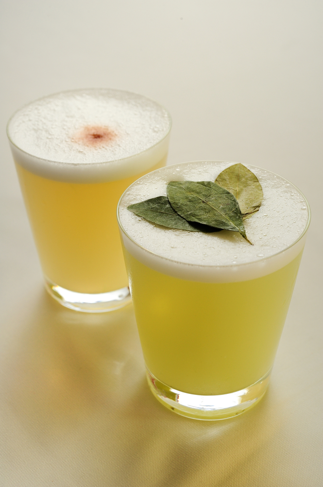 Pisco sour - Peru's national cocktail. Photo by Shutterstock.com