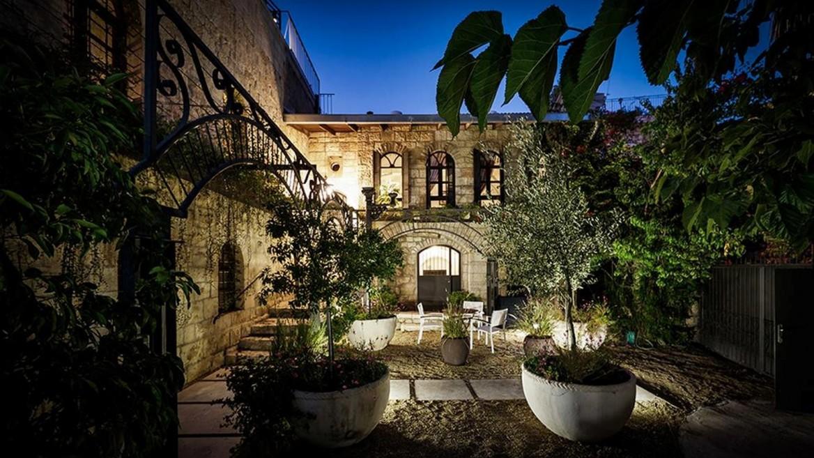 Alegra Boutique Hotel in Ein Karem, Jerusalem. Photo: courtesy