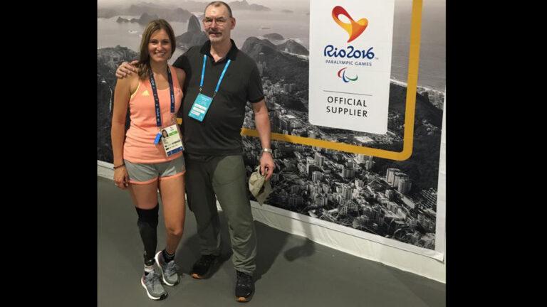 Denise Schindler in Rio Photo via Facebook