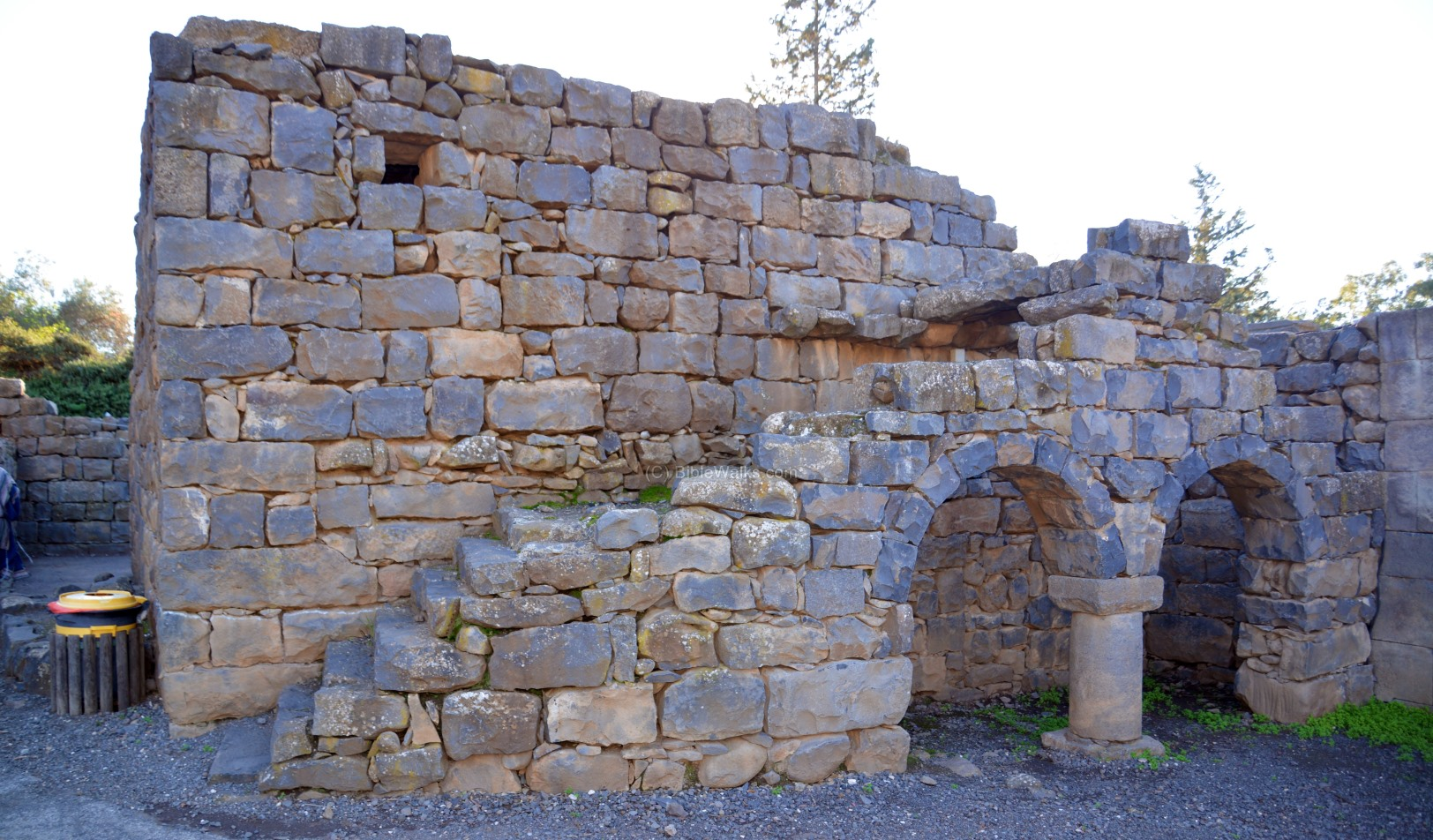 A restored stone house in the Talmudic village in Katzrin. Photo via BibleWalks.com