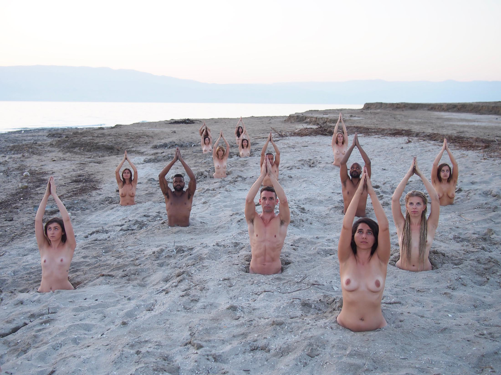 Naked Art Installation. Photo by Spencer Tunick