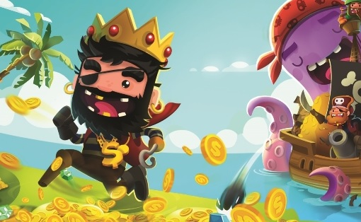 Pirate Kings hits 70 million downloads. Photo courtesy of Jelly Button Games