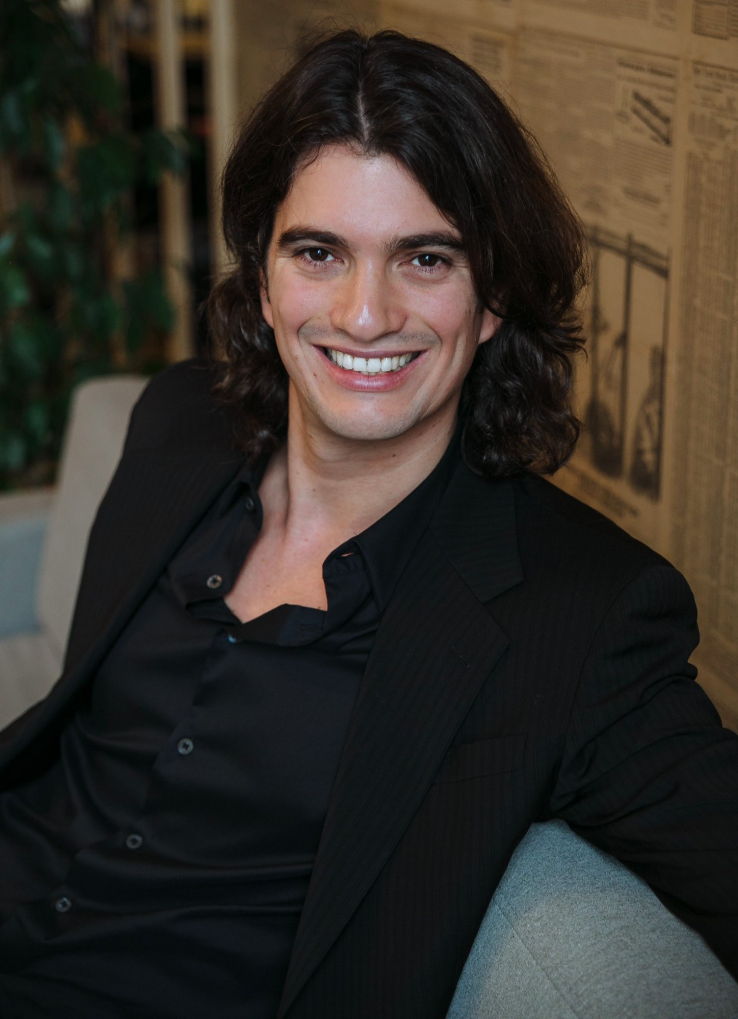 Adam Neumann, cofounder and CEO of WeWork. Photo: courtesy