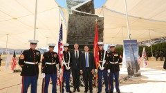 KKL-JNF and US Embassy ceremony for September 11 victims in Jerusalem. Photo by Yossi Zamir/ KKL-JNF