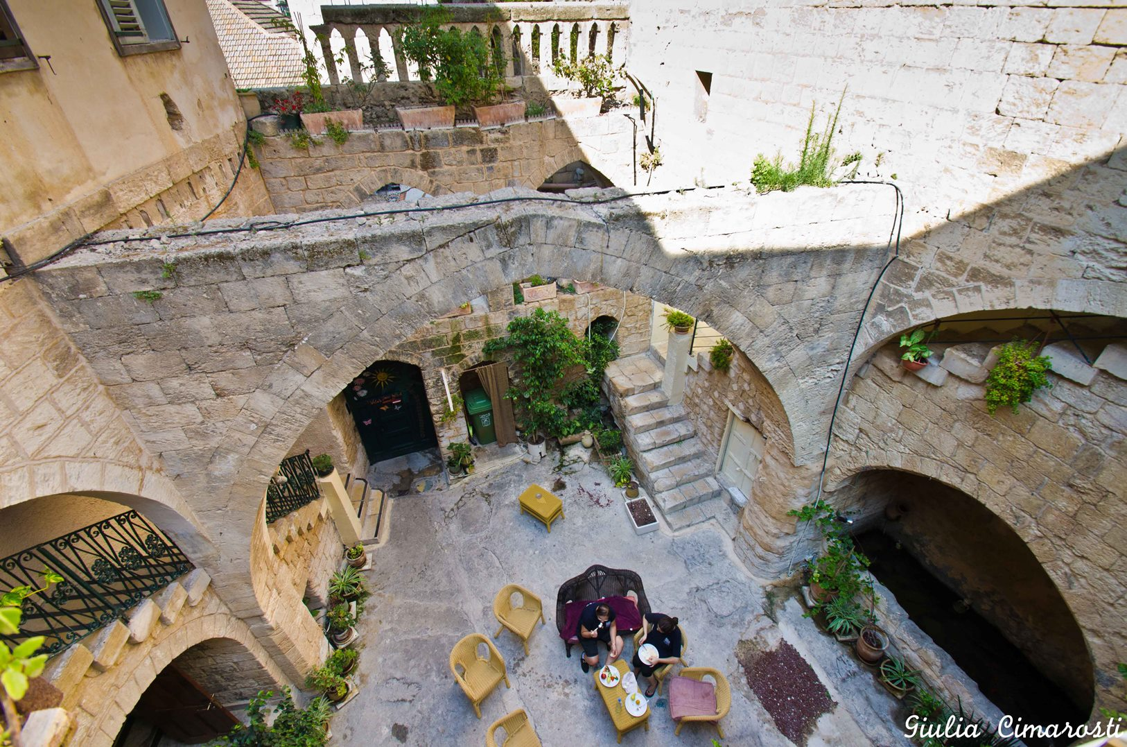 Overview of Fauzi Azar Inn, Nazareth. Photo by Giulia Cimarosti/TravelReportage.com