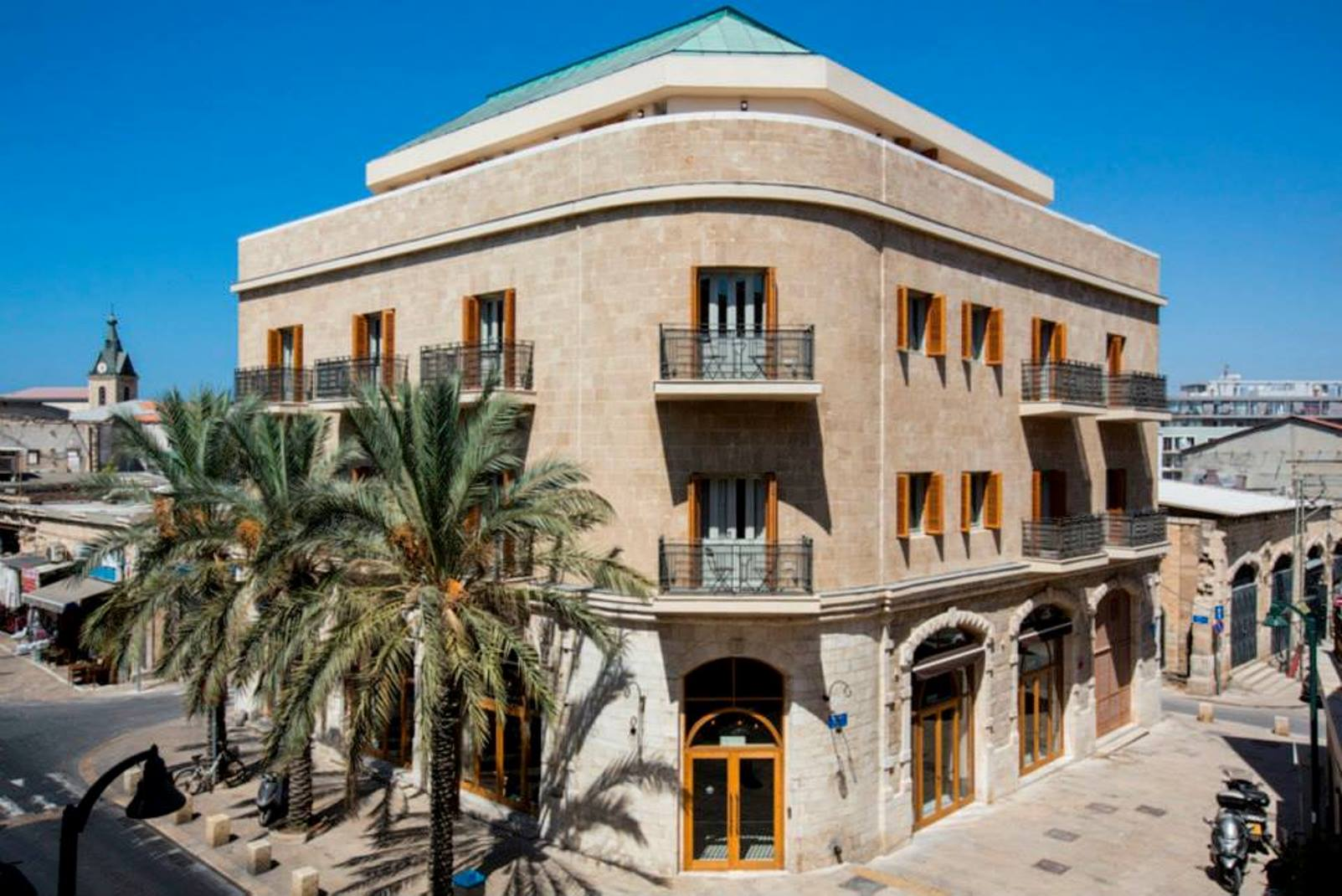 Market House Hotel, Jaffa. Photo: courtesy