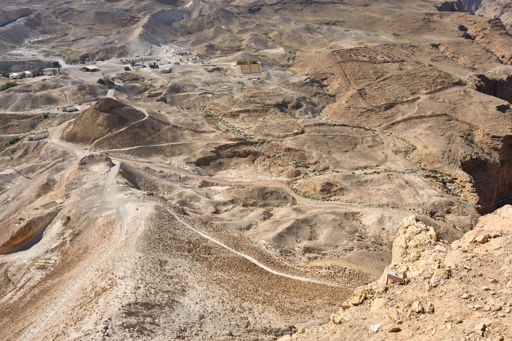 Climb to the top of Masada on the Roman Ramp. Photo by Shutterstock