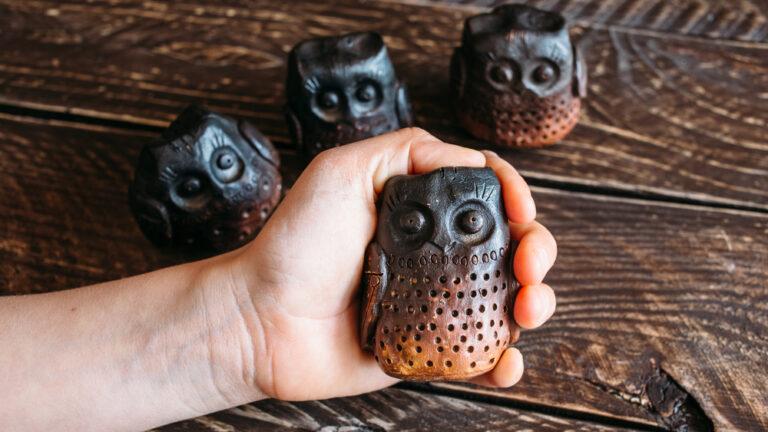 Illustrative photo of owl statues. Photo via Shutterstock.com
