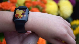 CMRA, a band accessory made by Glide for Apple Watch. Photo: courtesy