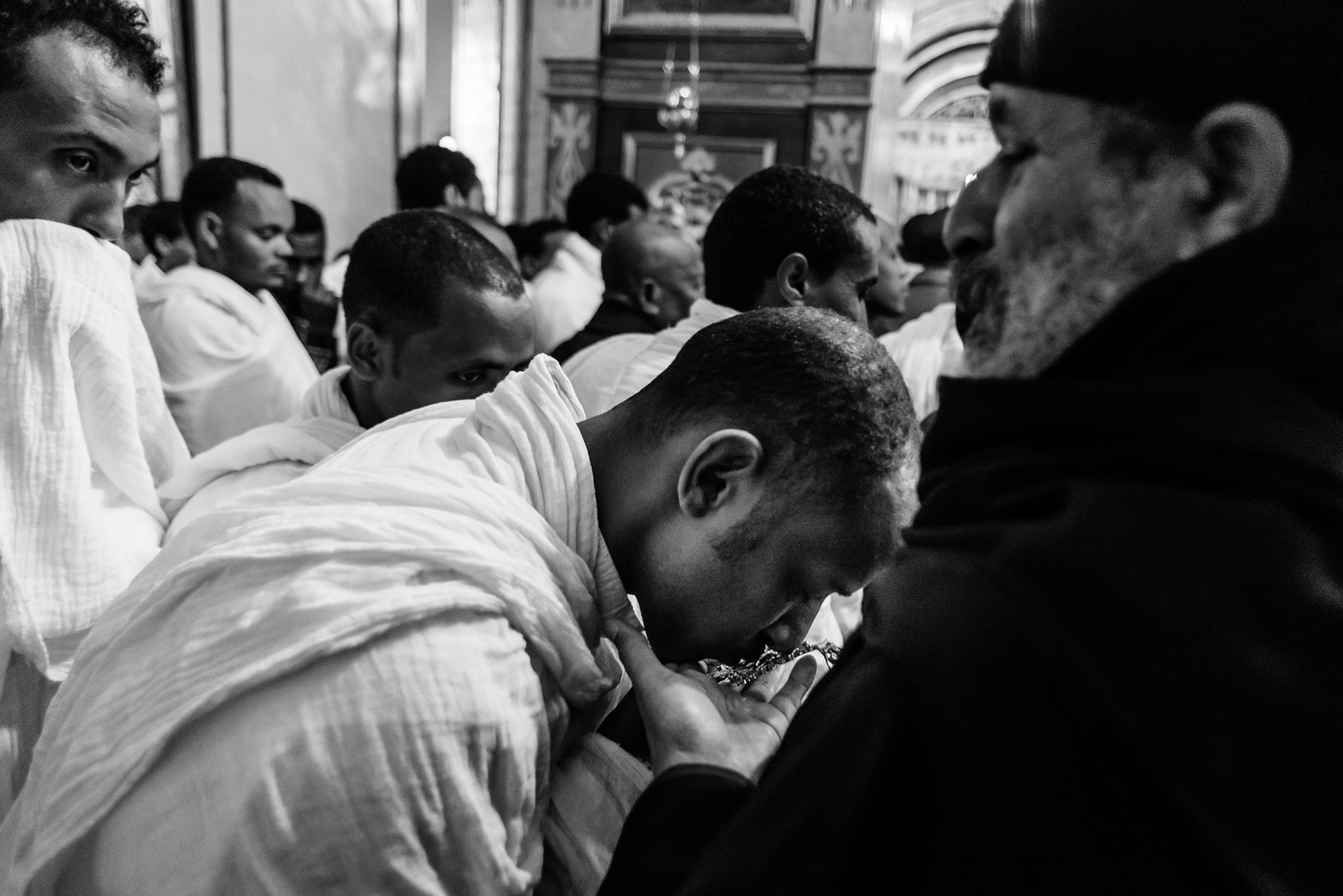"""Ethiopian Worshipers"" by Dor Kedmi"