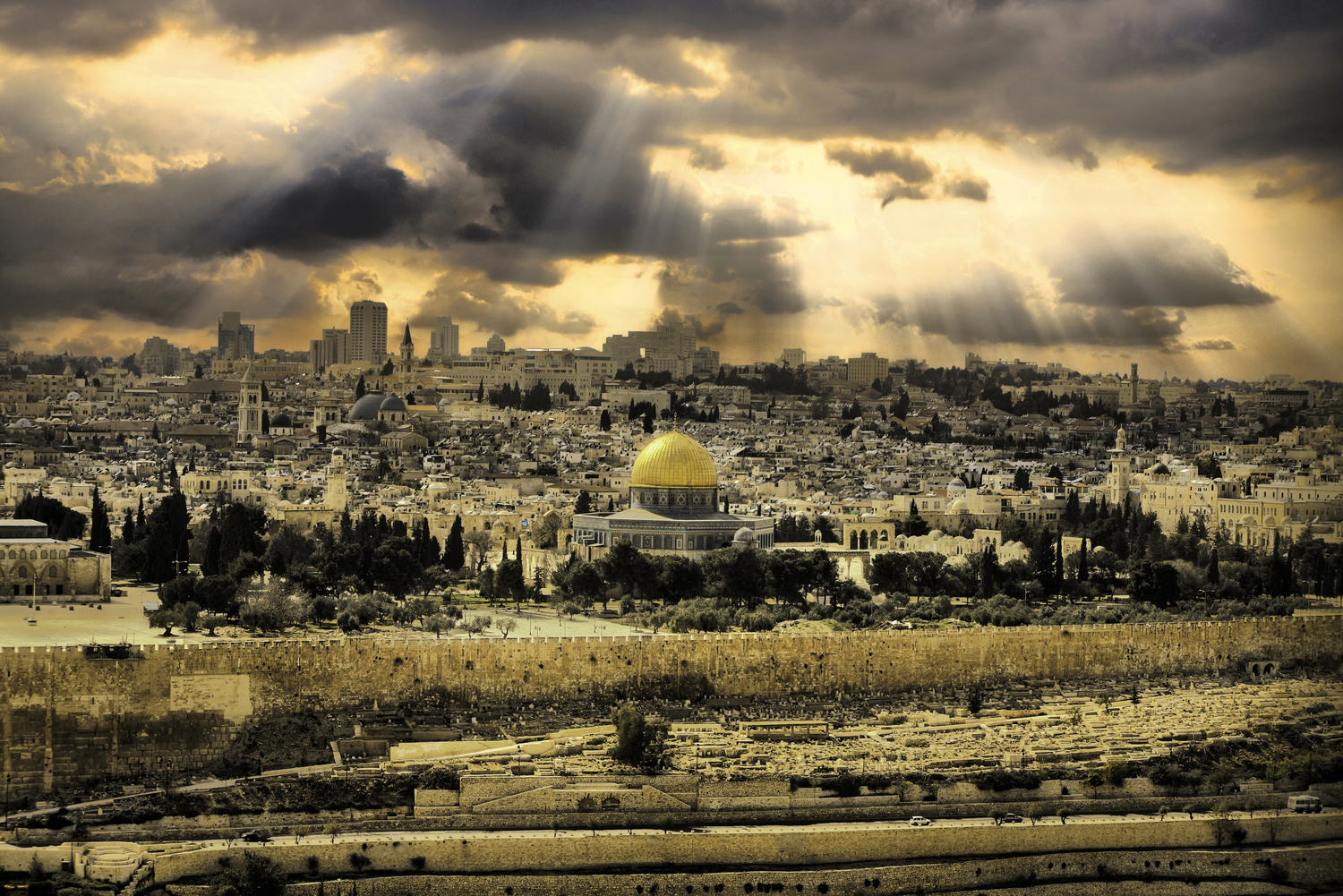 """Jerusalem of Gold"" by Noam Chen"