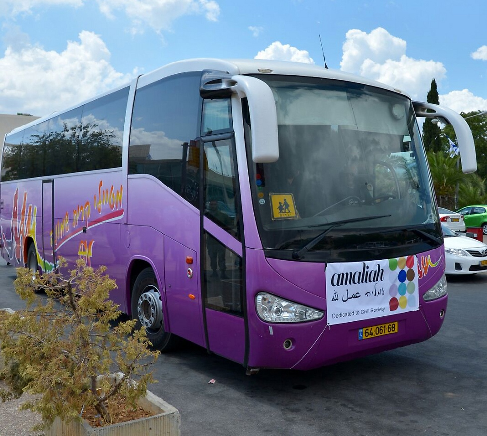 Amaliah is busing hundreds of sick and wounded Syrian children to Israel for medical care. Photo: courtesy