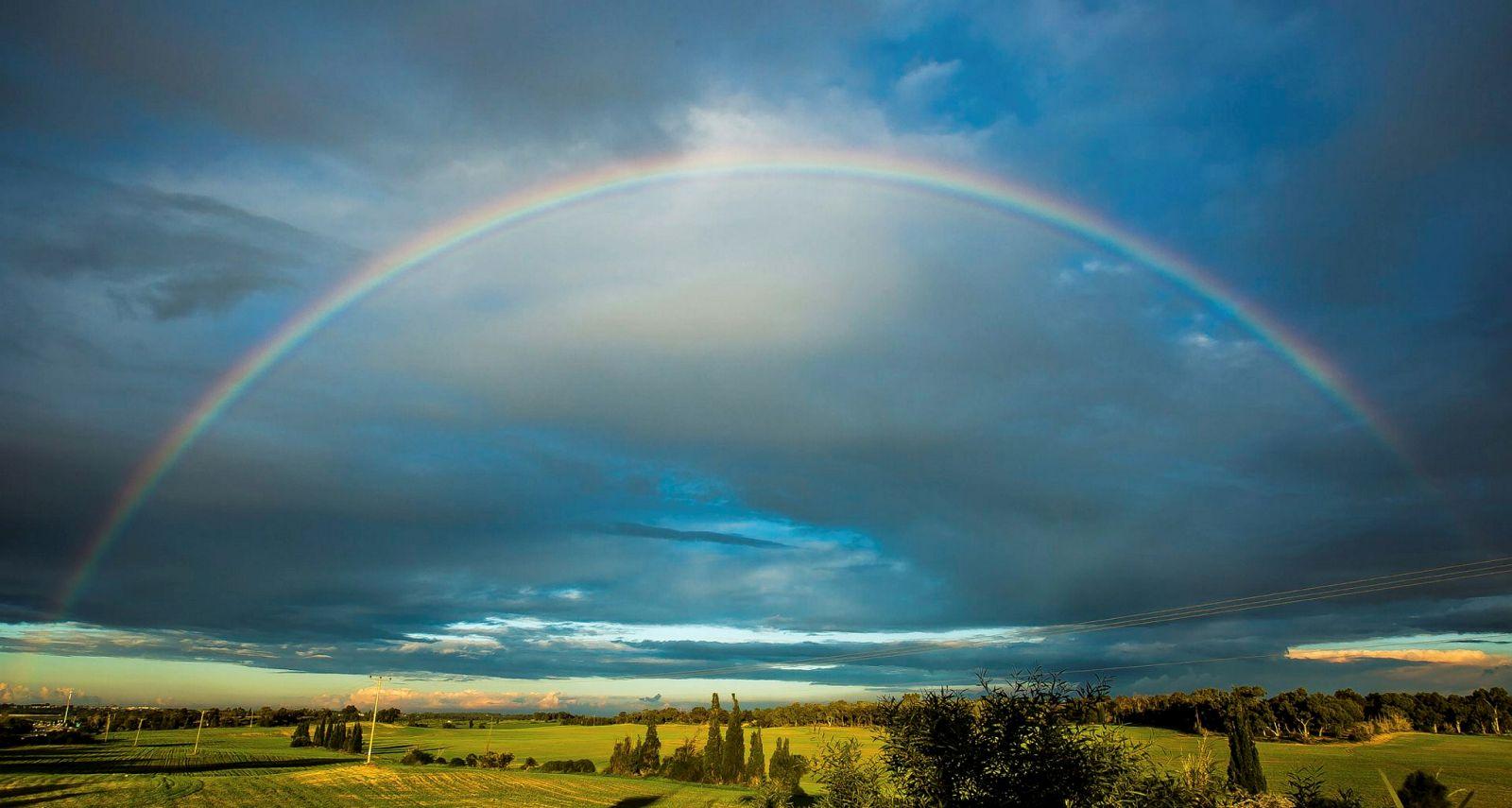 Rainbow skies release date in Melbourne