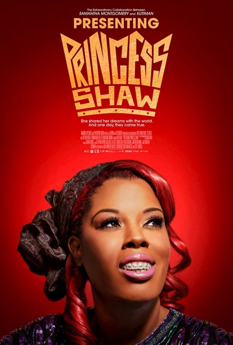 "Movie poster for ""Presenting Princess Shaw."""