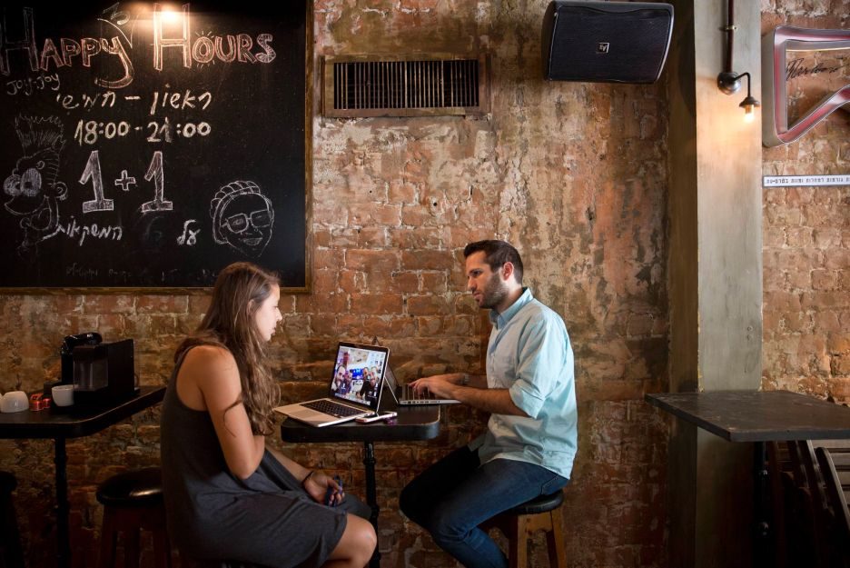 Business meetings in Pub Hub locations afford a quiet atmosphere. Photo: courtesy
