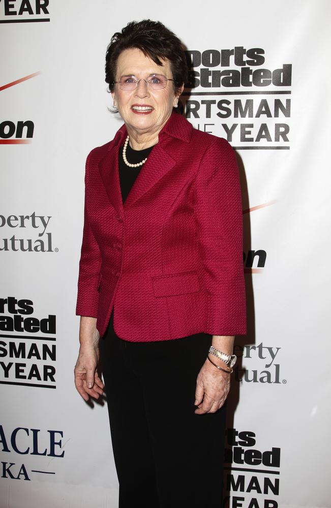 Billie Jean King photo by Debby Wong/Shutterstock.com