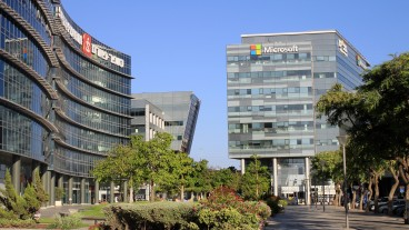 Microsoft headquarters in Herzliya. Photo via Shutterstock.com